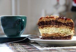 Recette savoureuse de gâteau-collation au chocolat