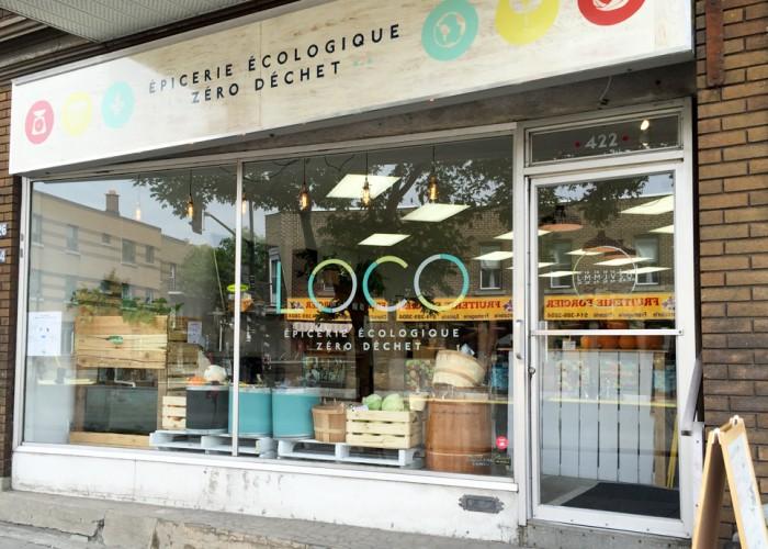 L'épicerie LOCO a pignon sur la rue Jarry dans Villeray.