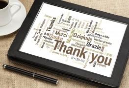 Conseils derédaction d'une lettre de remerciement sincère