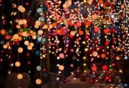Faire de belles chaînesde lampions maison