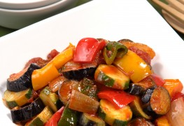 Recette simple de ratatouille
