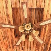 Profitez de la fraicheur d'un ventilateur de plafond extérieur