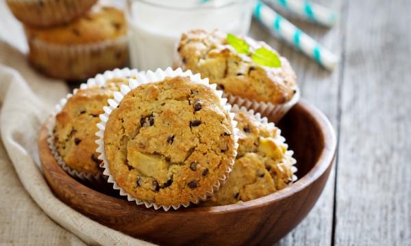 Perdez la boule avec ces délicieux muffins aux bananes et au chocolat