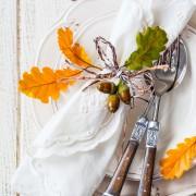 4 conseils pour dresser une belle table à l'Action de grâce