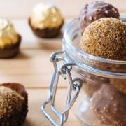 Recette rapide de truffes au chocolat