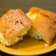 Sans gluten : semoule de maïs crémeuse et pain de riz