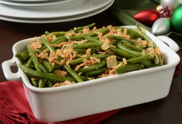 Recette de casserole de haricots verts