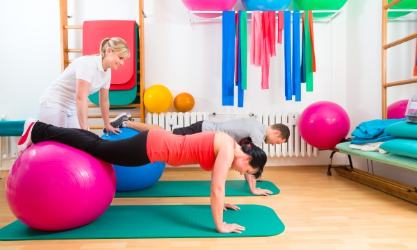 Le ballon d'exercice | Trucs pratiques