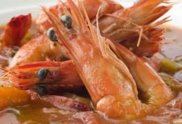 Recette de gumbo de crevettes et d'orge