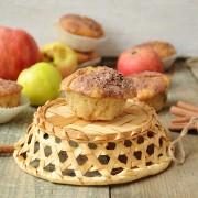 Recette de muffins aux pommes et aux raisins