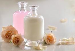 Soin de la peau aux huiles naturelles : lait et fumigation