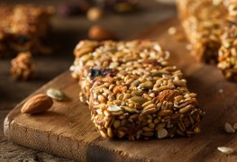 Recette de barres granolas au matzo