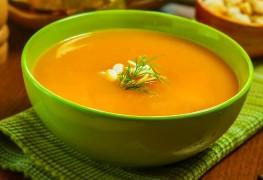 Recette de soupe de carottes à l'aneth