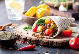 Recette de burritos aux haricots de style cubain