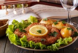 Escalopes de veau à la sauce au citron et à l'ail
