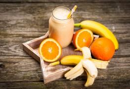 Recette de lait frappé orange banane