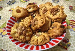 Recette de sablés aux noix