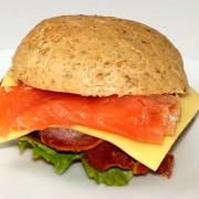 Recette de hamburgers de saumon fumé