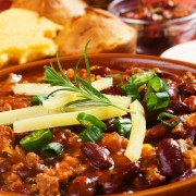 Recette de chili aux lentilles et haricots