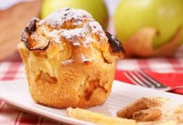 Recette de muffins de son aux pommes