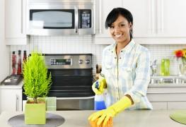 Un nettoyage de cuisine écologique en 9 étapes