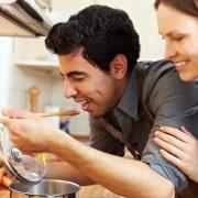 Recette de super-aliments : fusillisitaliens avec cresson et sauce auxolives