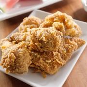 Recette faible en gras de poulet frit au four