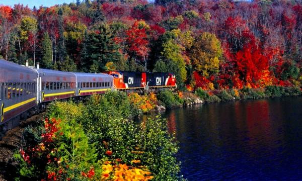 Tous à bord! Les plus beaux voyages en train au Canada
