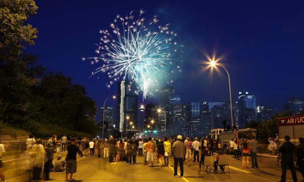 Canada 150: où regarder les feux d'artifice de la fête du Canada à Calgary