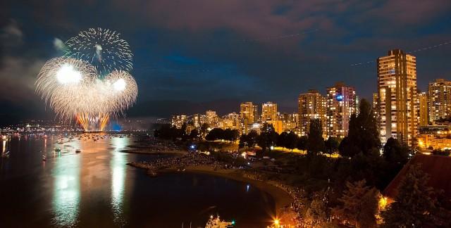 Où célébrer la fête du Canada à Vancouver et dans ses environs