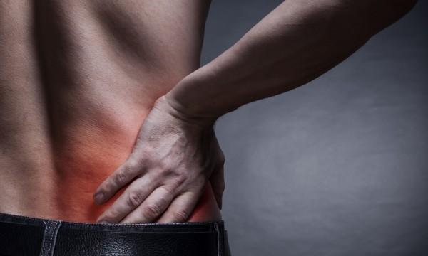Douleur au flanc gauche, dans l'abdomen et le dos