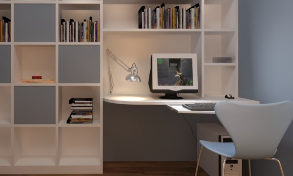 5 fa ons de ranger votre bureau domicile trucs pratiques. Black Bedroom Furniture Sets. Home Design Ideas