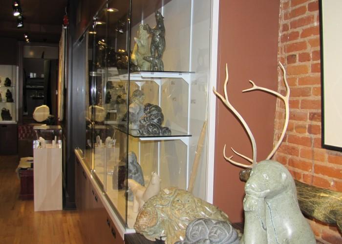 Galerie ELCA London- Art Inuit Montréal - Portrait de l