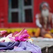 La signification des couleurs lors de funérailles hindoues