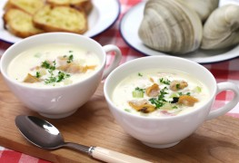 2 recettes réconfortantes de chaudrées de palourdes