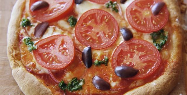 La pizza aux tomates, un choix sensé!
