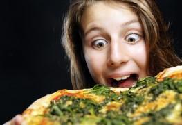 La pizza aux épinards, pour faire le plein de fer!