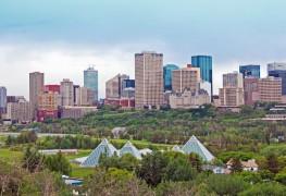 Vue à vol d'oiseau: les meilleures vues panoramiques à Edmonton