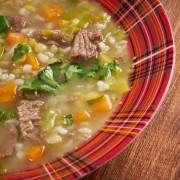 Recette de soupe de bœuf à l'orge