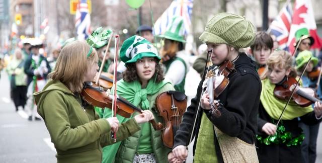 Les meilleures villes du Canada pour célébrer la Saint-Patrick