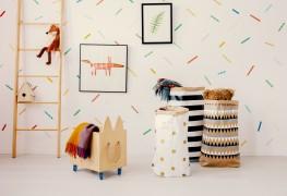 7 façons de décorer vos murs avec du washi tape