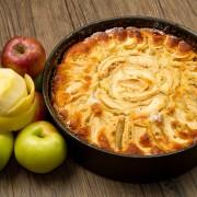 Desserts décadents: tarte à l'arachide et tarte aux pommes