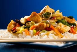 Recette de ragoût de poulet thaïlandais