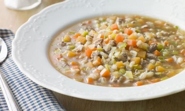 2 délicieuses soupes de bœuf maison