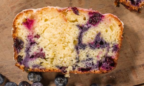 Dessert décadent : gâteau aux bleuets