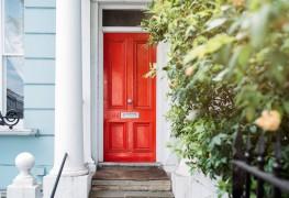 Les meilleures idées pour peindre pour votre porte d'entrée
