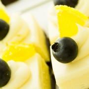 Recette de carrés de gâteau au fromage