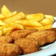 Recettes de pépites de poulet et de frites maison