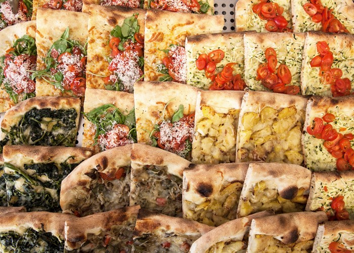 FCO di Fiumicino - Pizzas al metro, gelato maison, chariot à gelato disponible pour évènements spéciaux