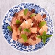 Salade rafraîchissante de crabe et pamplemousse